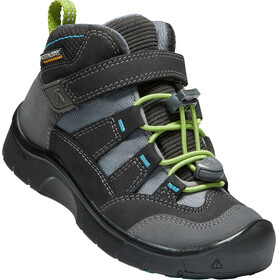 Keen Hikeport Mid WP Shoes Children magnet/greenery